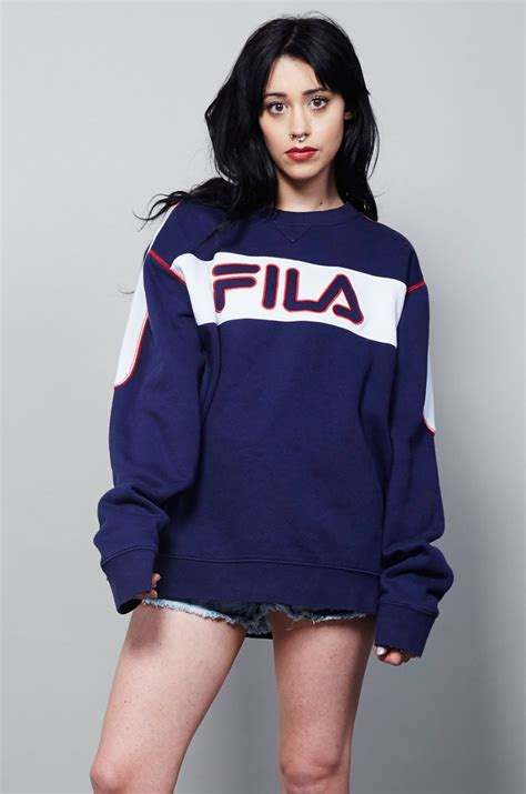 Sweater Fila Vintage Classic Fila Sweater Nordicpoetry Co Uk