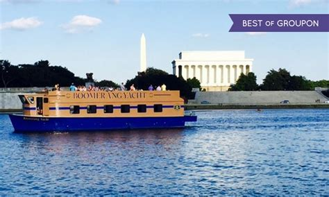 boomerang boat tours in washington dc groupon - Boomerang Boat Tours Washington Dc Reviews