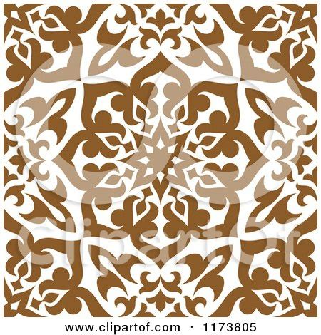 arabic poster design vector seamless brown and white arabic floral pattern posters