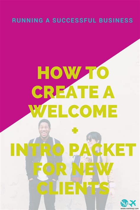17 best ideas about welcome packet on pinterest