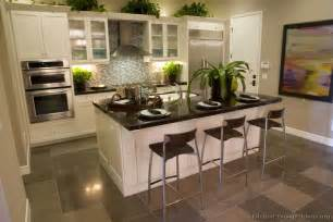 White Cabinet Kitchen Design by Pictures Of Kitchens Traditional White Kitchen