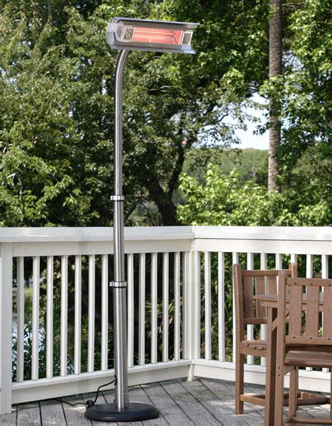 87 stainless steel telescoping pole mounted infrared