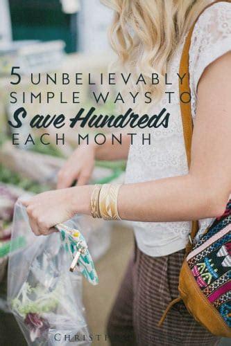 ways  save money shopping