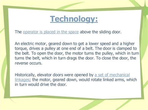 System In Business Mba Notes Madras by Automatic Sensor Door Systems In Chennai Coimbatore