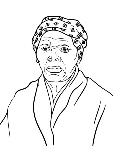 Harriet Tubman Coloring Page the underground railroad coloring pages