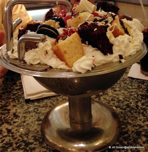 The Kitchen Sink Sundae great places to celebrate your rundisney race the
