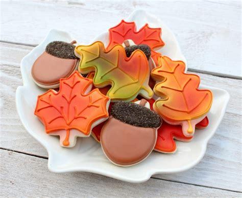 easy autumn leaves cookies the sweet adventures of sugar belle