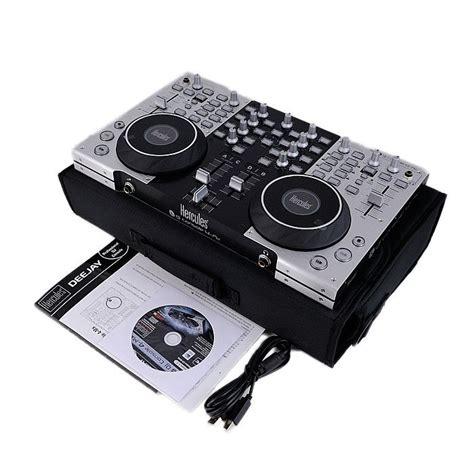 costo console dj hercules mx 4 consola pro dj mezcladora digital