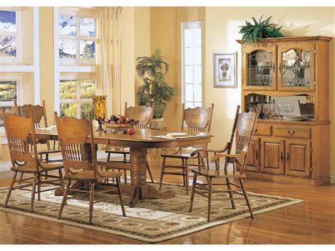 Furniture How To Design Oak Dining Room Sets Dinner Oak Furniture Dining Room