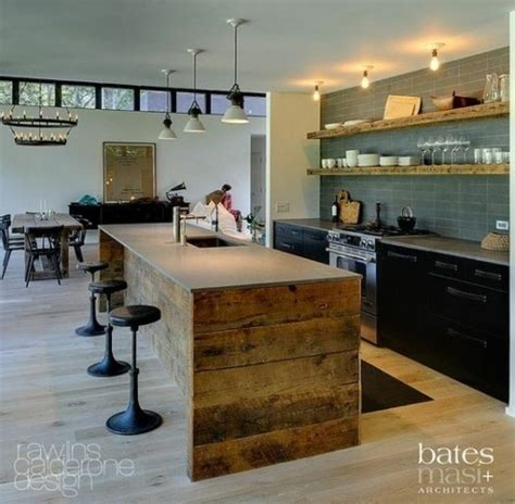 unusual kitchens 64 unique kitchen island designs digsdigs