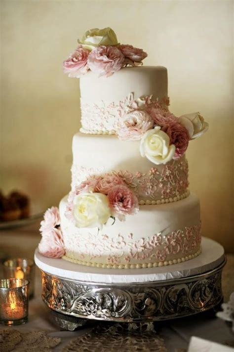 Vintage Wedding Cakes by Fondant Wedding Cakes Vintage Wedding Cake 805220