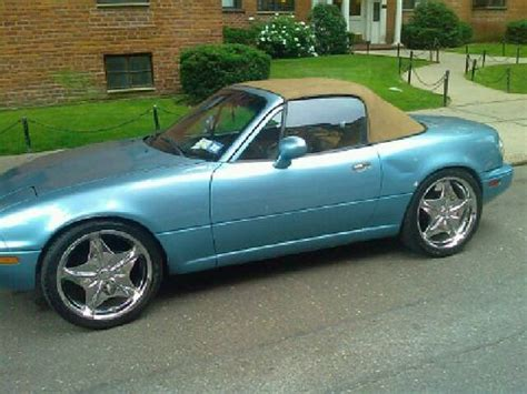 mazda convertible blue purchase used 1994 mazda miata convertible 2 door 1 8l mx