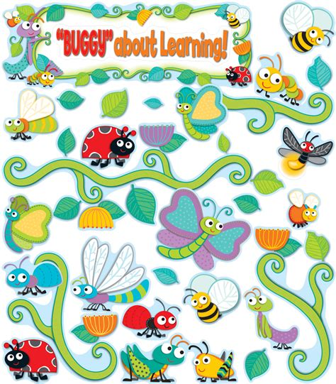 buggy for bugs cut outs grade pk 8 carson dellosa publishing buggy for bugs bulletin board set grade pk 5 carson