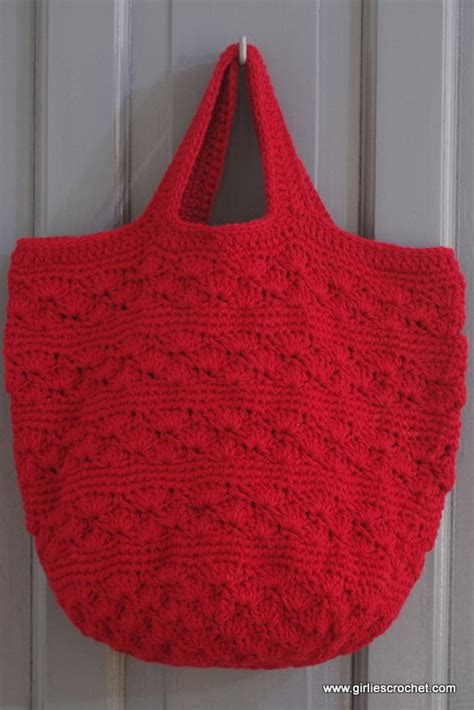 crochet tote bag pattern pinterest free crochet pattern shell bag a boho bag great for
