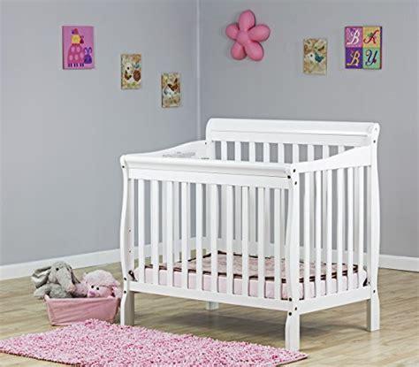 Dream On Me 4 In 1 Aden Convertible Mini Crib White My Home On Me Aden Mini Crib