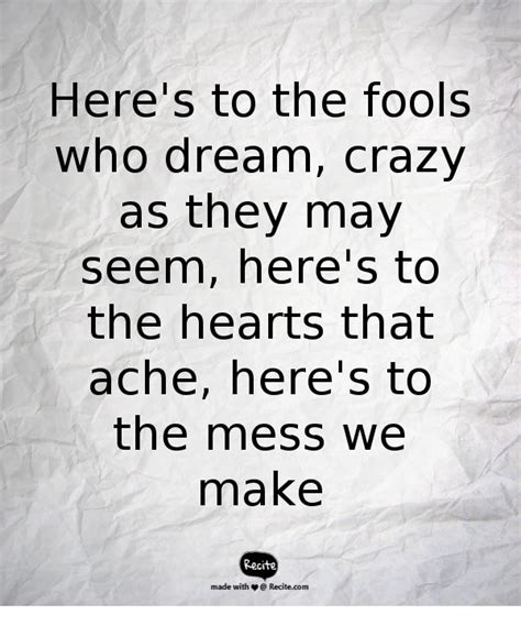 emma stone the fools who dream lyrics 17 best images about quotes on pinterest salvador dali