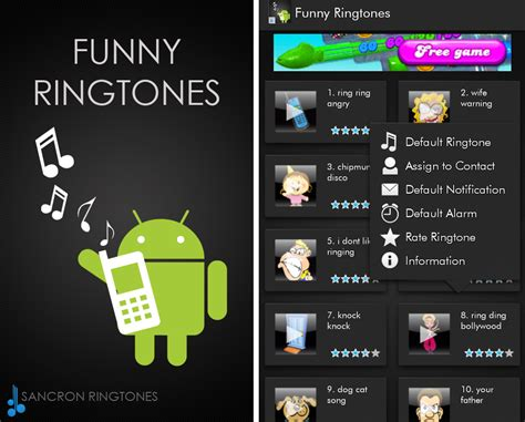 top 5 android ringtone apps to make your phone - Ringtone App For Android