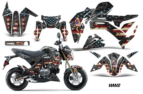 z racing motocross amr racing kawasaki z125 pro graphic kit dirt bike decals