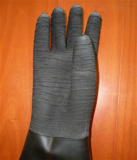 abrasive blasting cabinet gloves sand blast cabinet gloves in zhangdian shandong