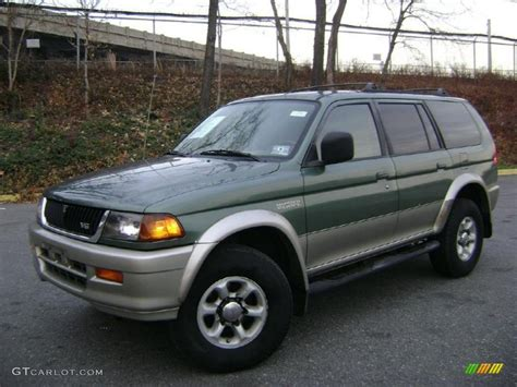 1997 Mitsubishi Montero Sport Information And Photos