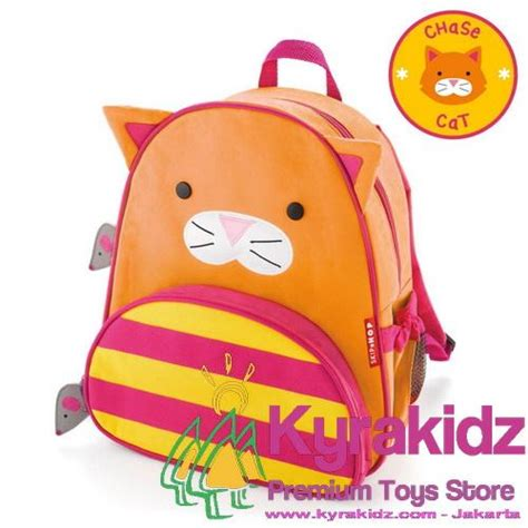 Skip Hop Zoo Pack Backpack Cat T2909 skip hop zoo packs pre school backpack cat kyrakidz