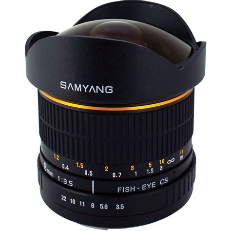Third Focus Caps Canon samyang 8mm f3 5 asph if mc fisheye cs a mount lens info