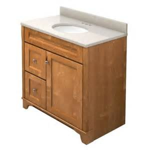 home depot bathroom cabinets with sink kraftmaid 36 in vanity in praline with quartz