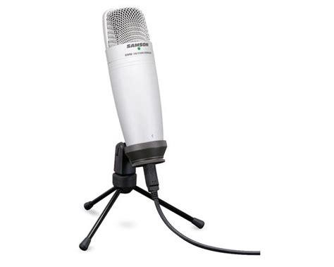 condenser microphone nz samson c01u usb studio condenser microphone buy in nz