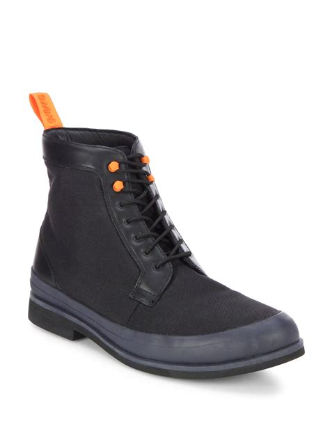 swims harry boots in black for lyst
