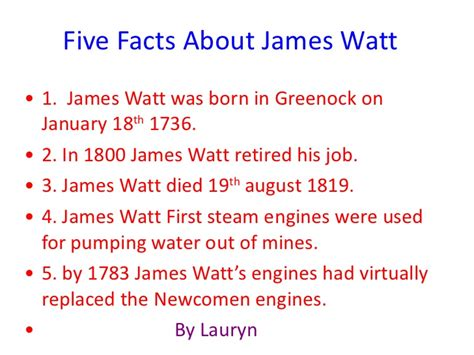james watt biography facts and pictures james watt and the steam engine
