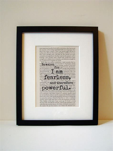 inspirational gifts from the books frankenstein book quote print inspirational by noodlebookart