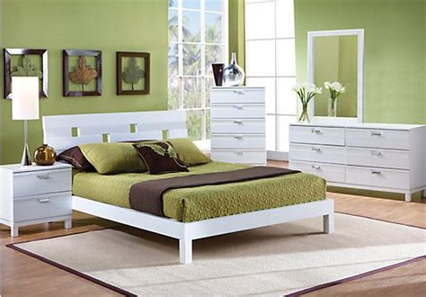 rooms to go king bedroom sets shop for a gardenia white 5 pc king bedroom at rooms to go