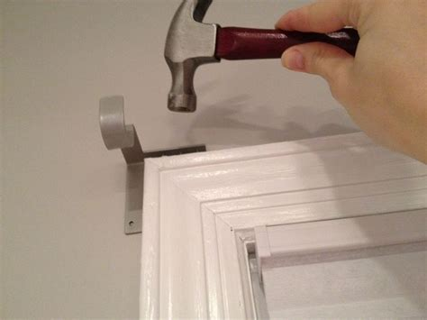 curtain rod holder best 20 curtain rod headboard ideas on pinterest
