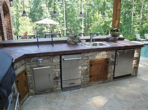 Kitchen Grill Bar Outdoor Kitchen Bar And Grill Traditional Patio