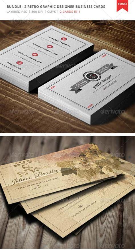 Name Card Kartu Nama Motif Balok Retro psd contoh template kartu nama retro network biz id