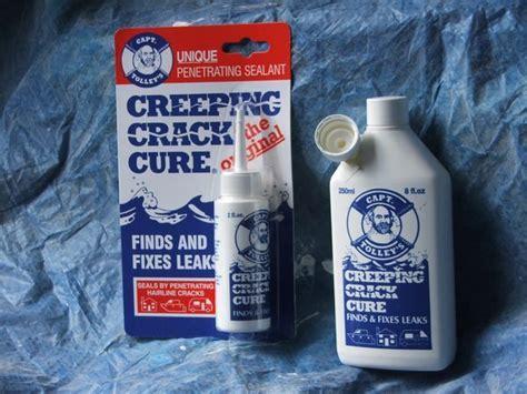 Captain   Capt. Tolley's Creeping Crack Cure Sealer