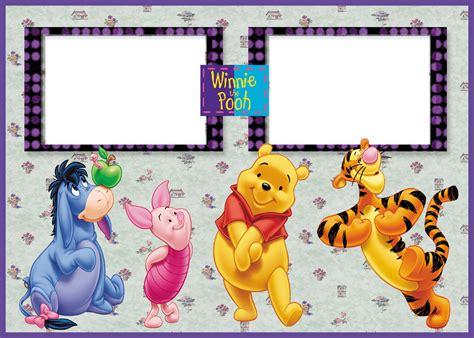 imagenes de winnie pooh para uñas marcos para fotos de winnie de pooh imagui marco de foto