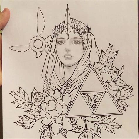 legend of zelda tattoo designs legend of design amino