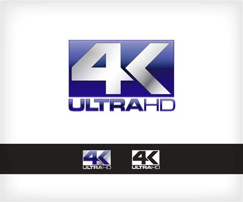 logo channel layout bold serious tv logo design for 4k ultrahd by insight