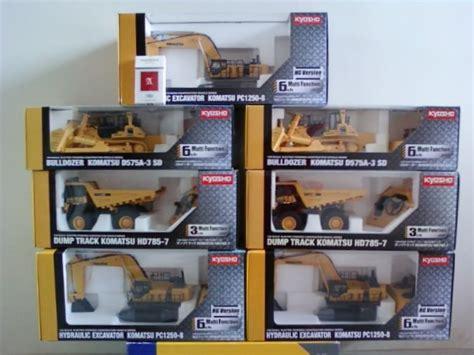 Miniatur Alat Berat Remot Kontrol diecast miniatur alat berat excavator komatsu pc1250 8
