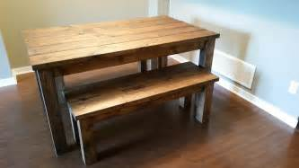 white oak dining table bench search