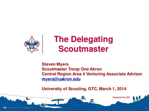 bsa card template the delegating scoutmaster 2014 bsa