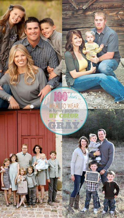 colors for family pictures ideas family picture clothes by color gray capturing joy with