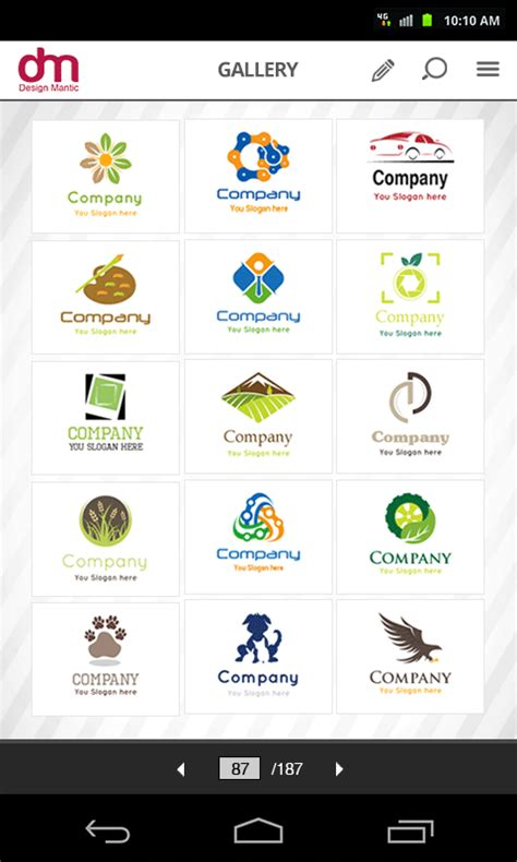 designmantic android app logo maker by designmantic android apps on google play