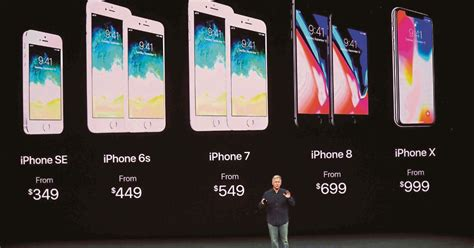 Iphone Malaysia apple s iphone x priced at rm4 200 iphone 8 from rm2 900 after conversion new straits times