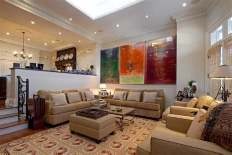 abstract painting for living room decorate using abstract paintings