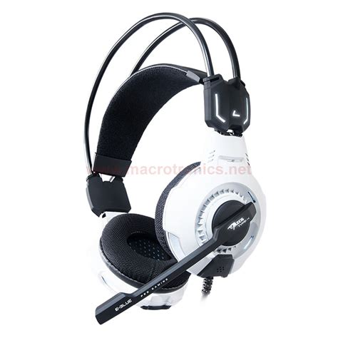 Headset Gaming Cobra e blue cobra professional gaming headset ehs013 white