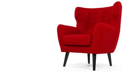 the red armchair red armchair