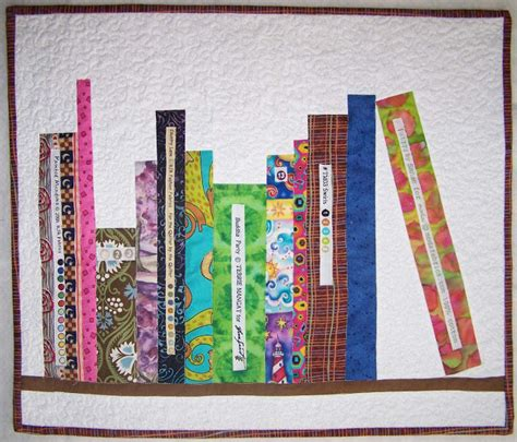 treasures n textures mini bookshelf quilt