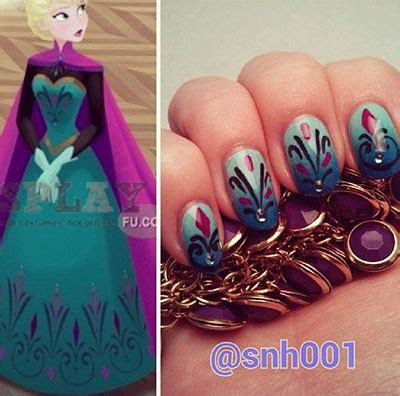 nagel stickers frozen 15 disney frozen elsa nageldesign ideas stickers 2017 elsa